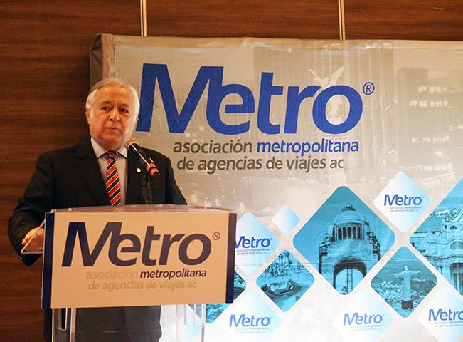 Asociación Metropolitana de Agencias de Viajes, Metro