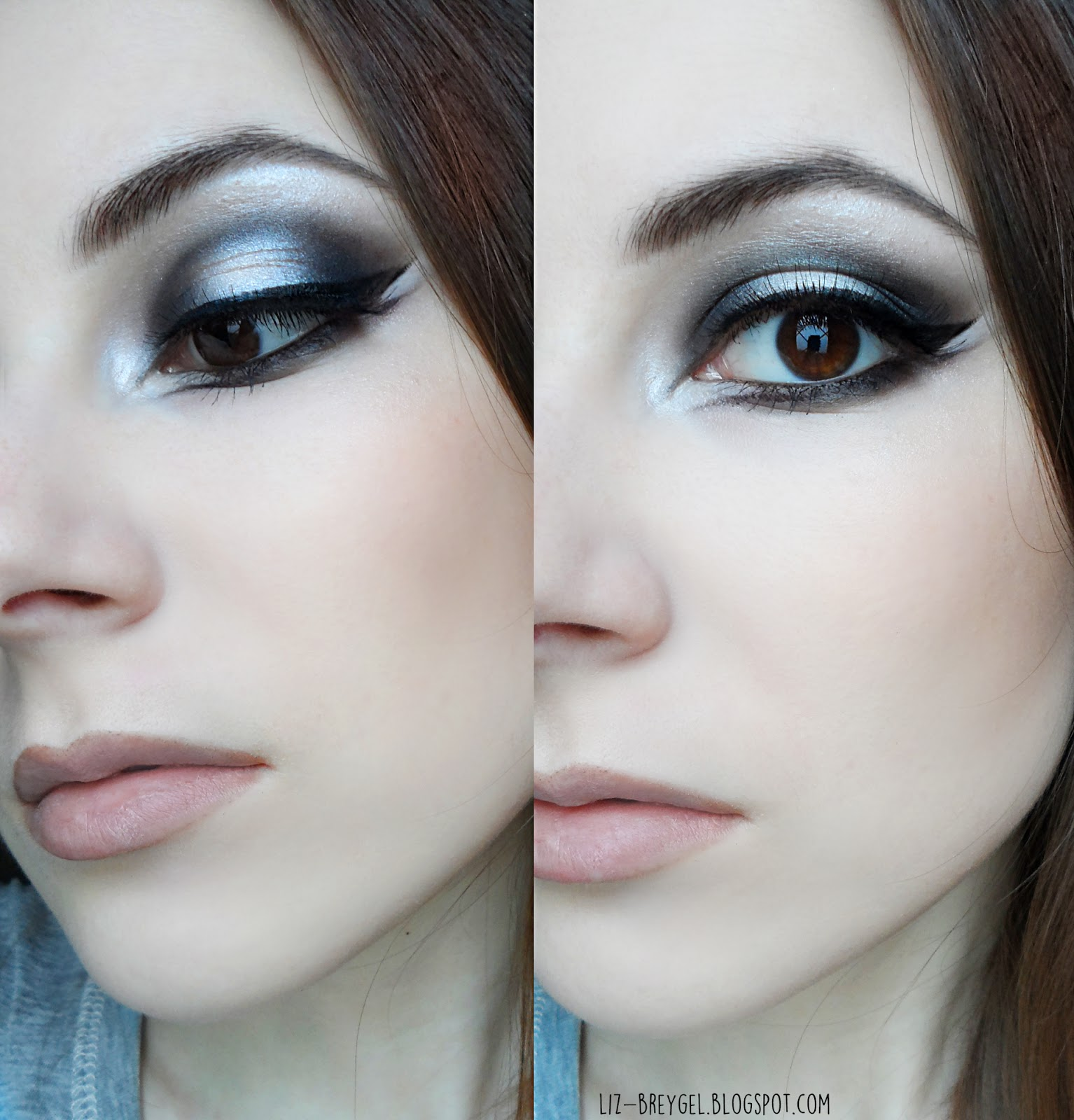 gothic makeup step by step tutorial