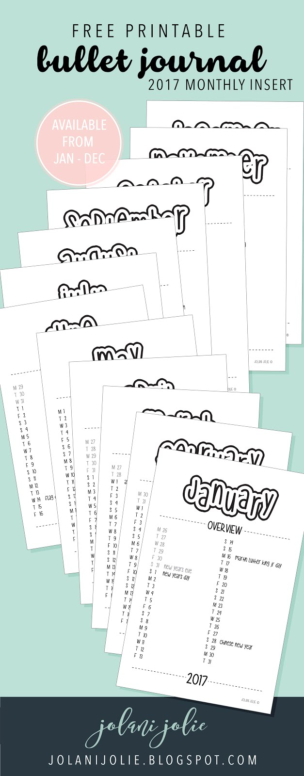 It is an image of Superb Printable Bullet Journal Pages