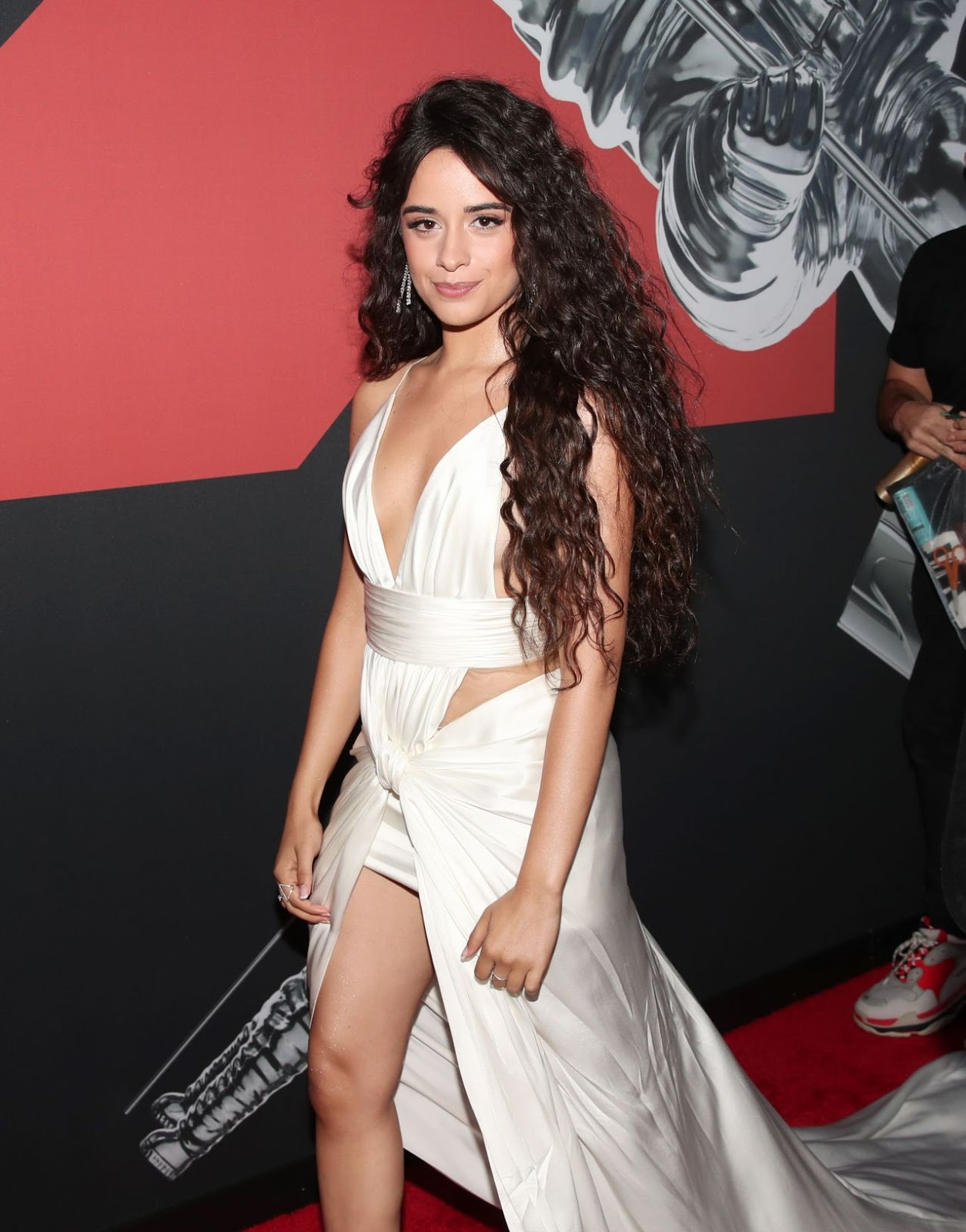Camila Cabello goes braless for the 2019 MTV VMAs