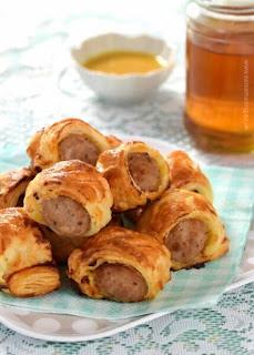 Easy Honey Mustard Sausage Rolls Recipe