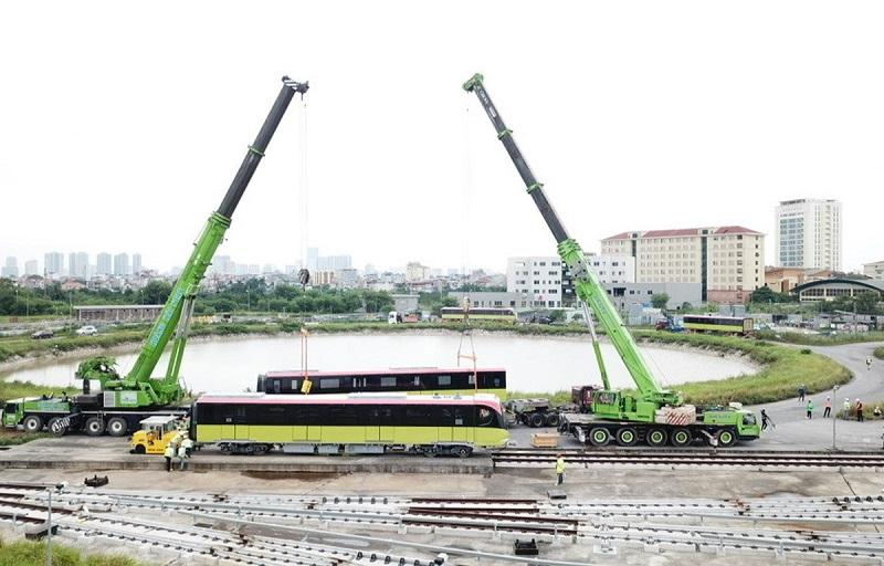 Tuyến Metro Nhổn-ga Hà Nội dự kiến khai thác vào năm 2021