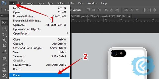 Cara Membuat Mockup Custom Case dengan Photoshop