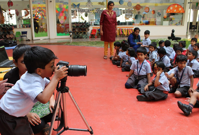 Trio Tots had organized a fun and educative photography session for their kids