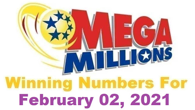 Mega Millions Winning Numbers for Tuesday, February 02, 2021