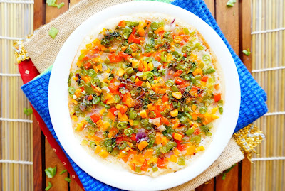 vegetable uttapam,veggie uttapam,south Indian recipes