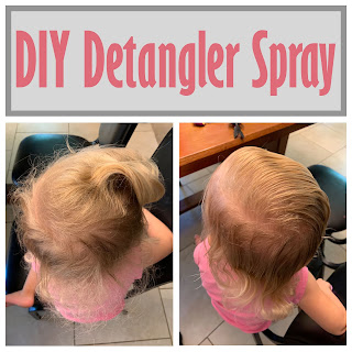 DIY Detangler Spray