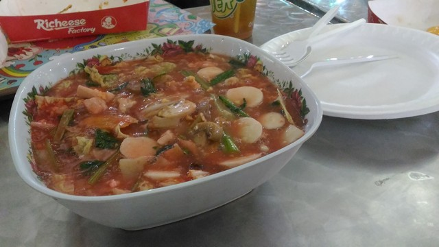 Cap Cay Porsi Jumbo di Mahkota Food Royal Plaza Surabaya