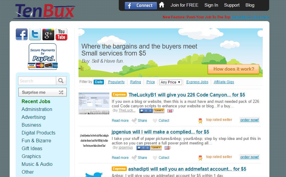 Top 6 Fiverr Alternatives for online freelancers | Freelance