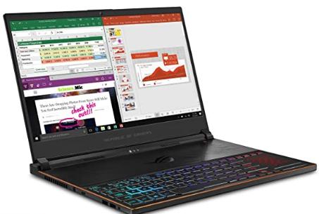 ASUS ROG Zephyrus S gaming laptop
