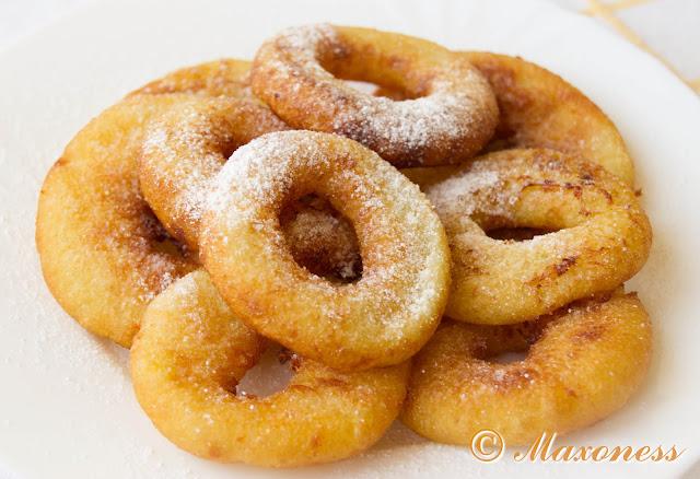 Картофельные пончики. Малайзийская кухня
