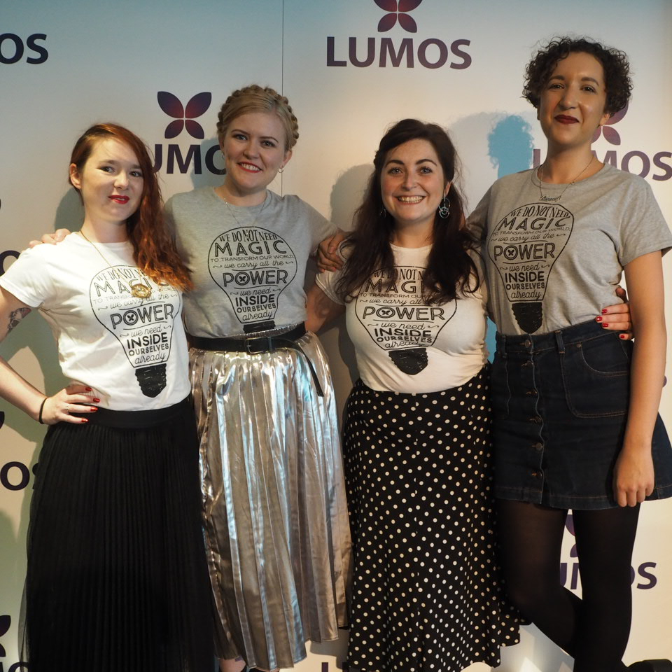 Lumos charity ambassadors