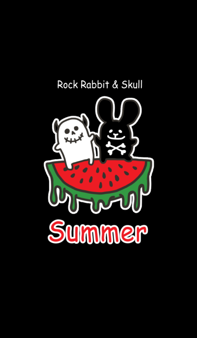 Rock rabbit and skull ver.Summer