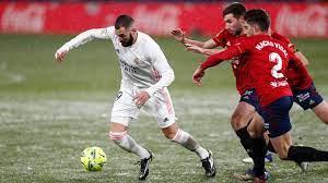 Ya tenemos fecha y hora del Real Madrid-Osasuna