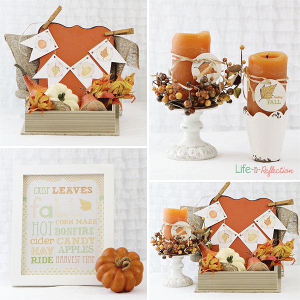 graphic about Fall Banner Printable named Cost-free Tumble Printable and Decor - The 36th Road