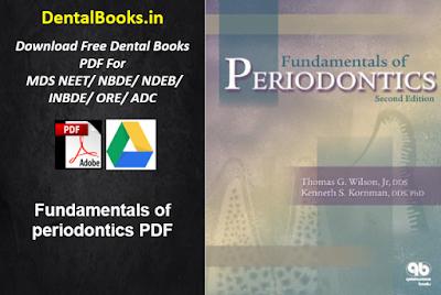 Fundamentals of Periodontics PDF