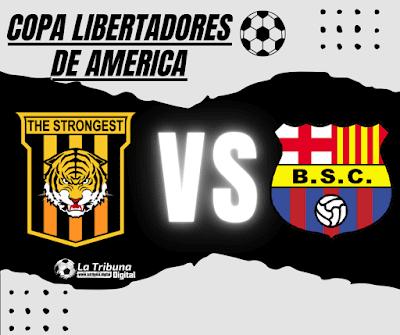 The Strongest vs Barcelona