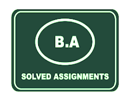 AIOU Solved Assignment Autumn 2020 B.A/B.Com