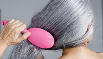 كيفية التخلص من الشيب نهائيا في ساعتين فقط بدون صبغة او حناء حتى لو كان الشعرك كله ابيض