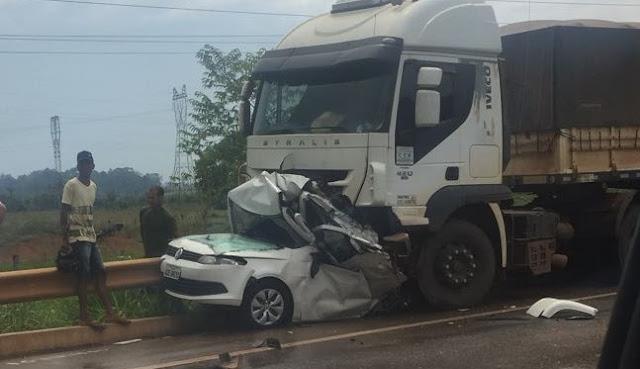 Brutal e bárbaro! Gravíssimo acidente deixa dois mortos agora na BR 364
