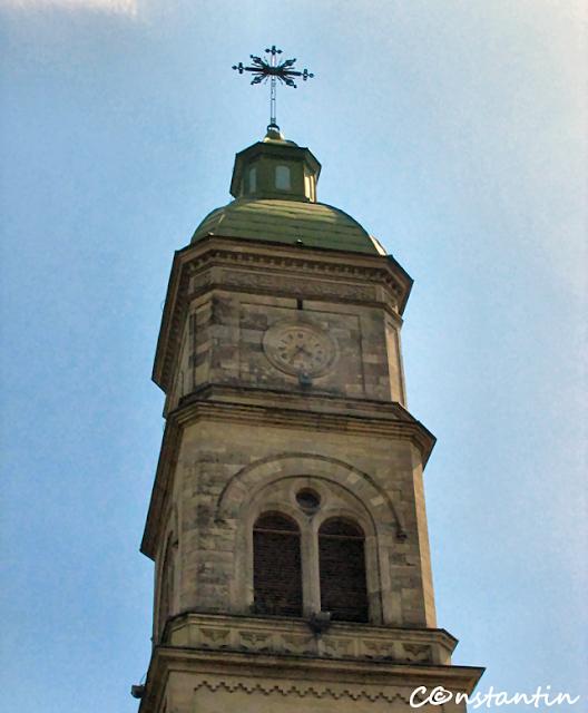 Turnul-clopotniţă cu ceas - Biserica Barboi