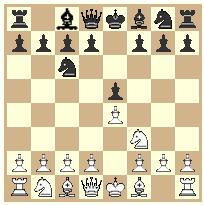 King`s pawn game