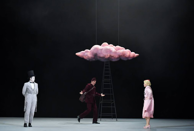 James Hall as Oberon in Britten's A Midsummer Night's Dream at Montpellier Opera (Photo Mark Ginot)
