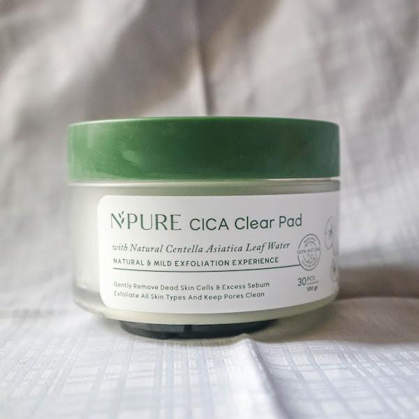 [Review] N'Pure Cica Clear Pad - Pads Eksfoliasi Lokal