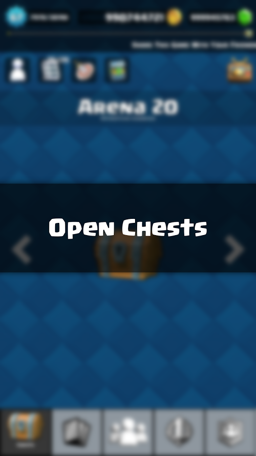 Chests simulator for CR MOD APK