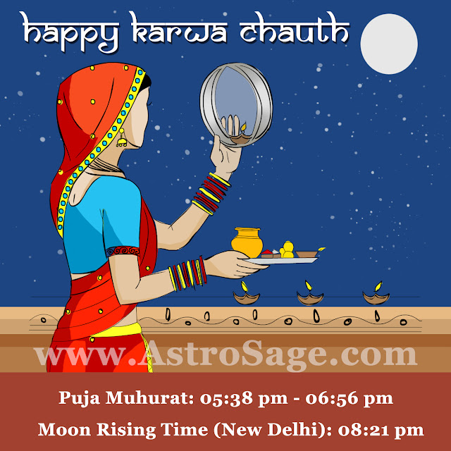 Karwa Chauth celebrates the love and trust of married life shared between the husband and wife.