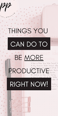 Things You Can do to be More Productive Right Now