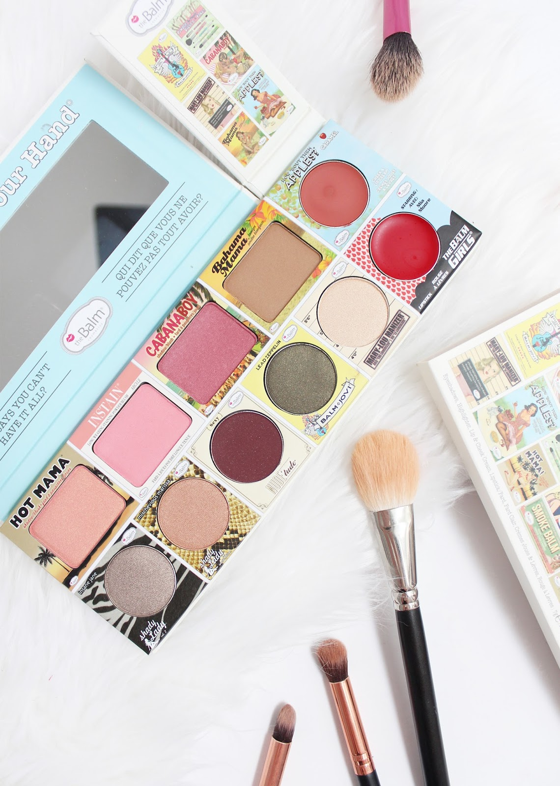 THEBALM | In The Balm of Your Hand - Greatest Hits Palette - Review + Swatches - CassandraMyee