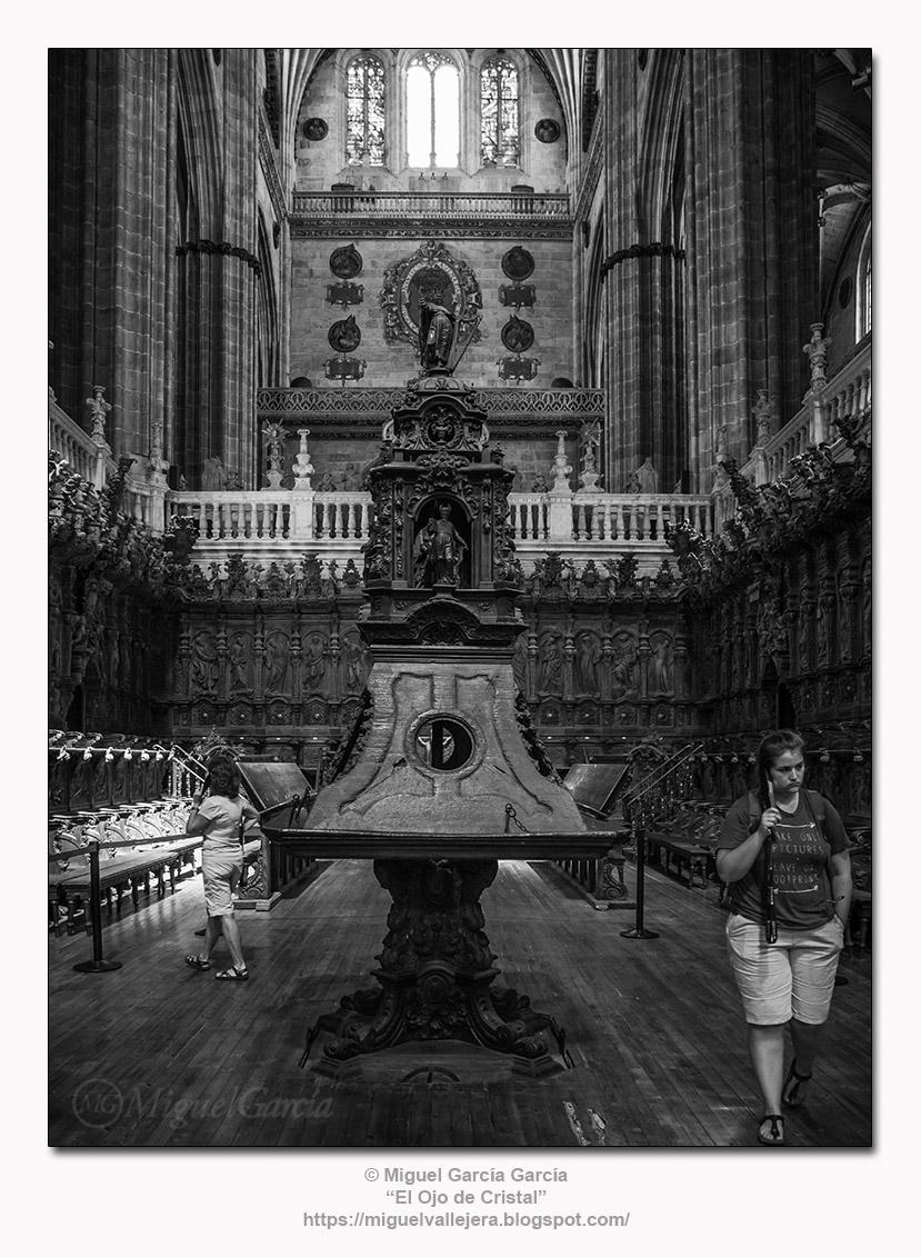 Facistol del Coro de la Catedral Nueva de Salamanca.