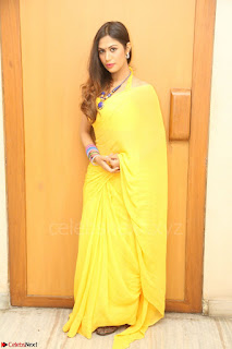 Nishigandha in Yellow backless Strapless Choli and Half Saree Spicy Pics 170.JPG