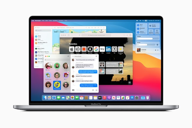 MacBook OS with Big Sur