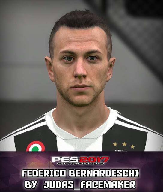 PES 2017 Federico Bernardeschi New Face (Juventus)