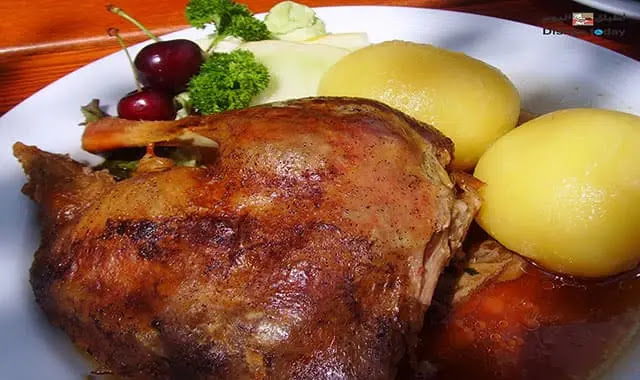 دجاج في الفرن poulet roti