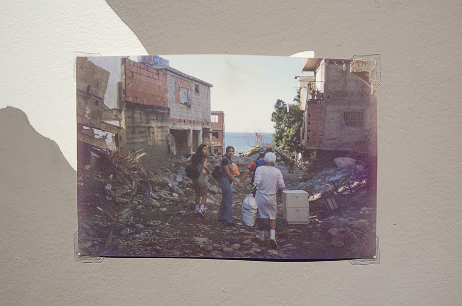 Fotografía para mural Tragedia de Vargas 1999