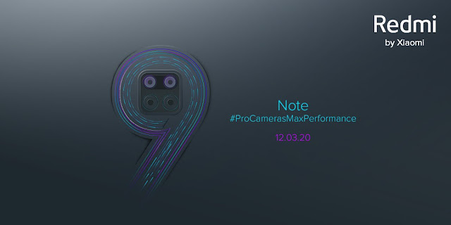 Redmi Note 9 Pro Is Set To Launch On 12th March with 108MP Camera