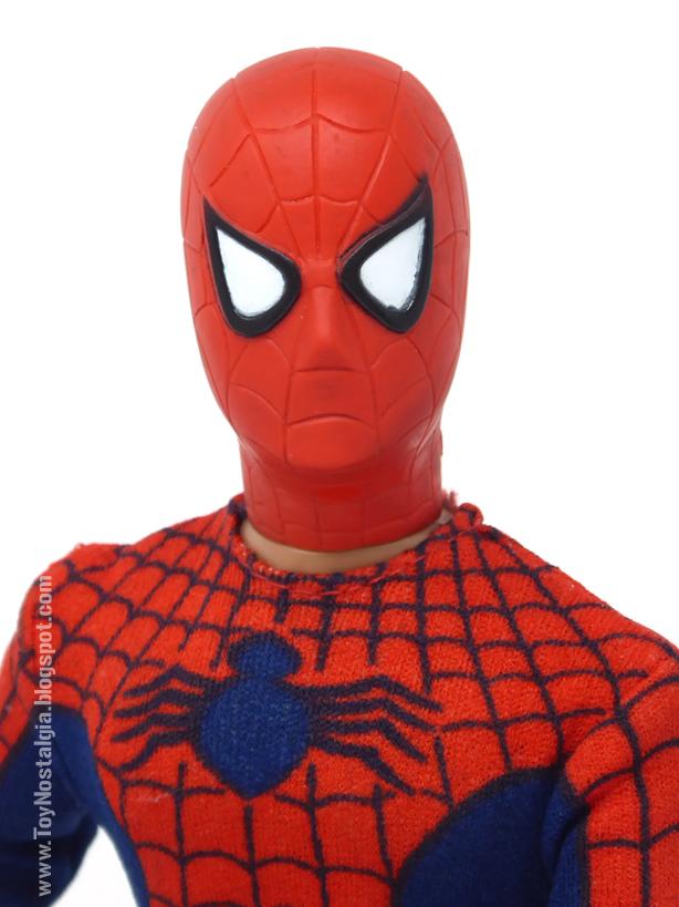 Mego Spider-Man 12 inches - 1979 - Spider chest   (MEGO - World's Greatest Super Heroes!)