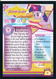 My Little Pony Twilight Sparkle [Student] Series 2 Trading Card