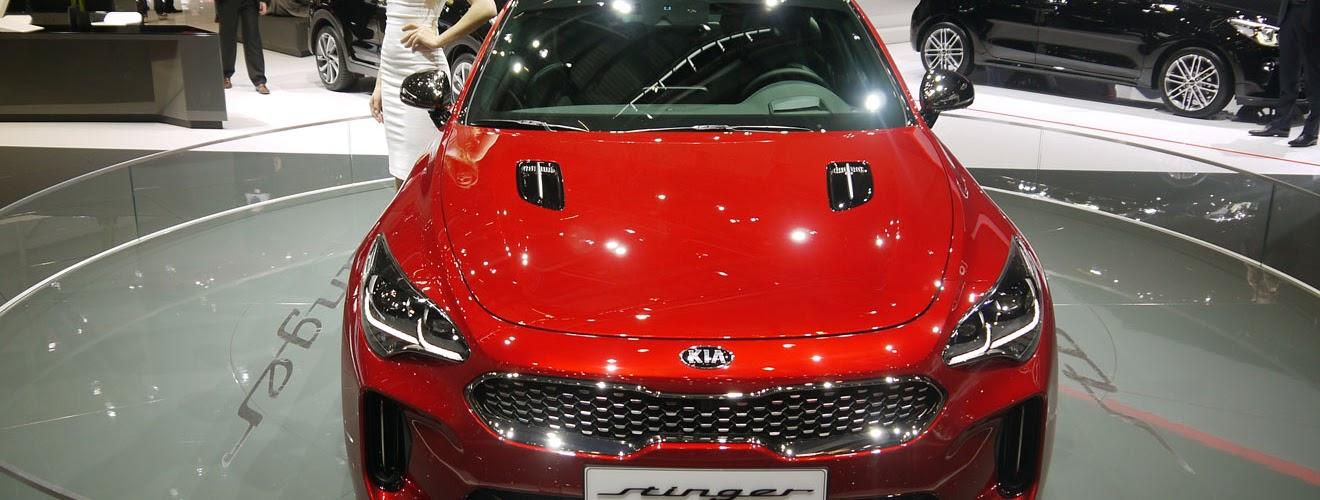 Kia Stinger at the Geneva Motor Show