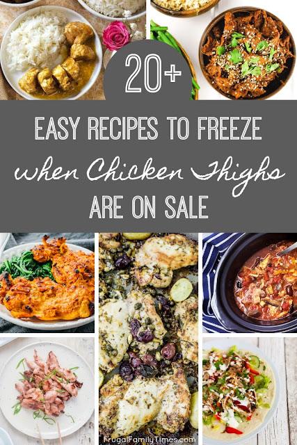 freezer meals chicken thighs