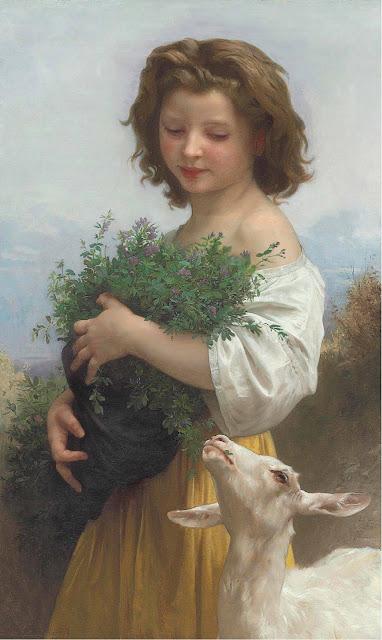 Адольф Вильям Бугро - Маленькая Эсмеральда (1874)