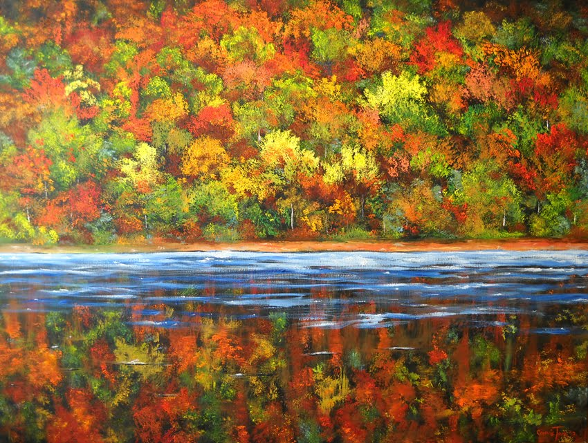 A Painting For You Quot Autumn In The Catskill Mountains Quot By