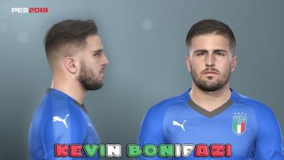 PES 2019 Faces Kevin Bonifazi by Prince Hamiz