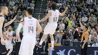 BALONCESTO (Copa ACB 2016) - 8 puntos de locura de Llull en el último minuto da una final más al Real Madrid