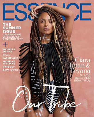 Ciara Essence Magazine summer issue cover