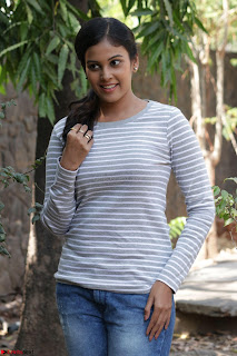 Actress Chandini in ed Tight Top at Ennodu Yilayadu tamil movie press meet ~  29.jpg