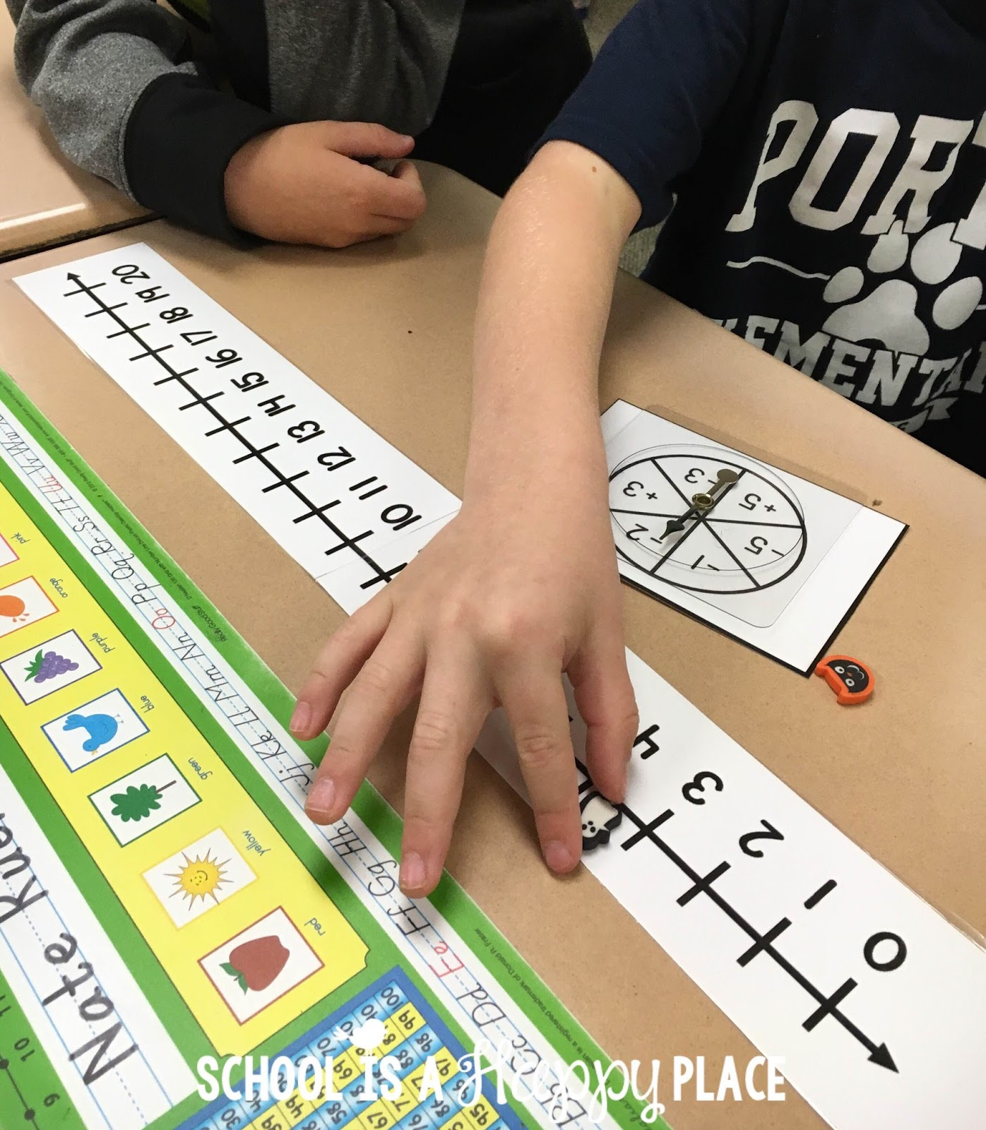 School Is A Happy Place Free Number Line Activities Your Students